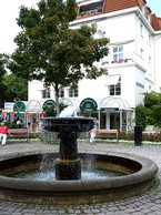 Springbrunnen in Bad Salzuflen